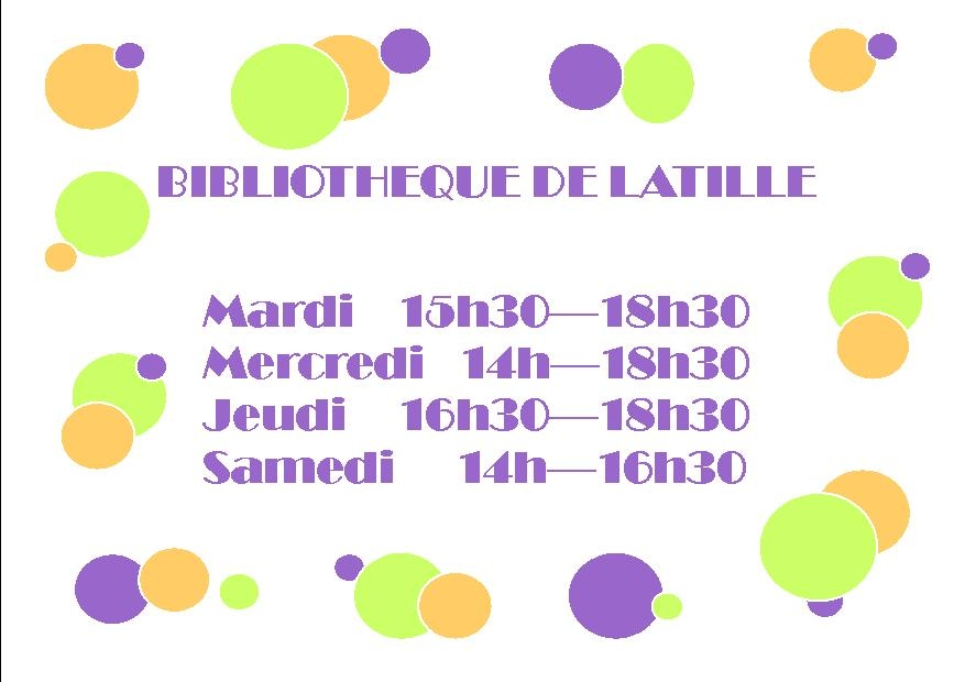 Tract Horaires ouverture