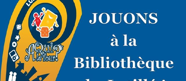 Affiche Bibliotheque Latille en tete